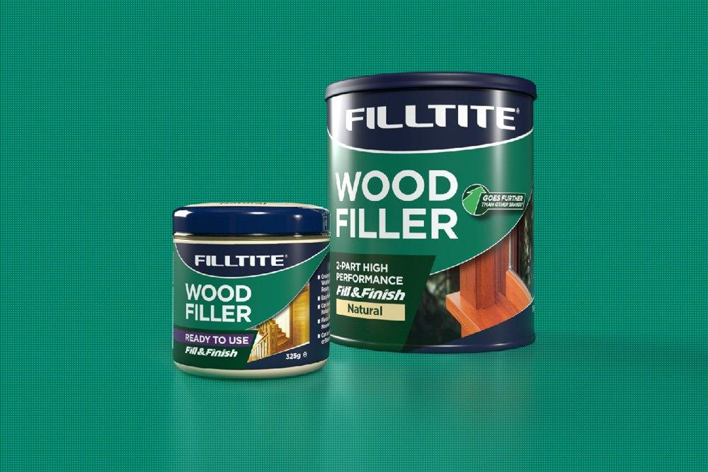 Filltite Fill & Finish Branding - Wood